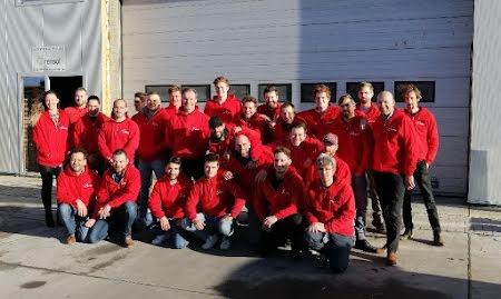 Groepsfoto medewerkers Rensol